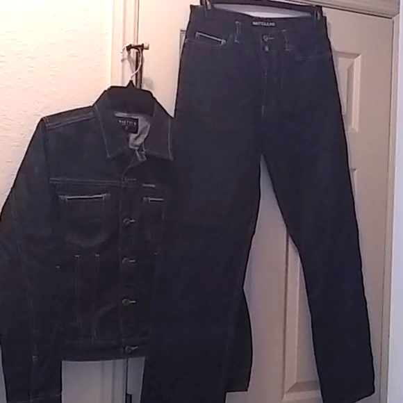 Ladies 2pc Denim Jacket & Jeans